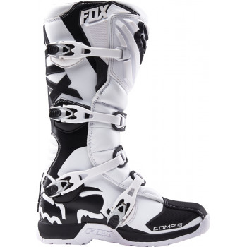 Мотоботы Fox Comp 5 Boot White 13