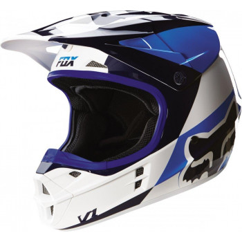 Мотошлем Fox V1 Mako Helmet Ece White XL