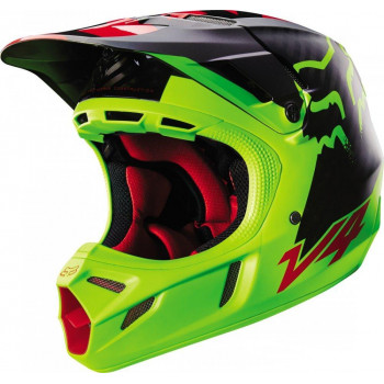 Мотошлем Fox V4 Libra Helmet Ece Yellow M