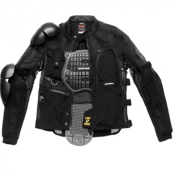 Мотокуртка Spidi Multitech Armor EVO Black XL