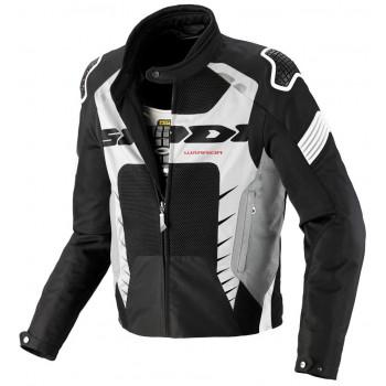 Мотокуртка Spidi Warrior Net Black-White 2XL