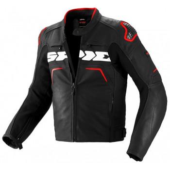 Мотокуртка Spidi Evorider Leather Black-Red-White 50