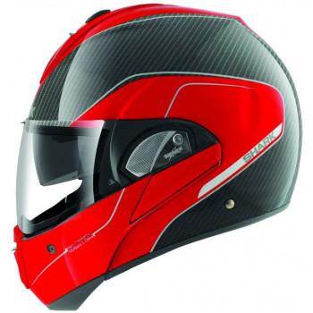 Мотошлем SHARK Evoline Pro Carbon Black-Red S
