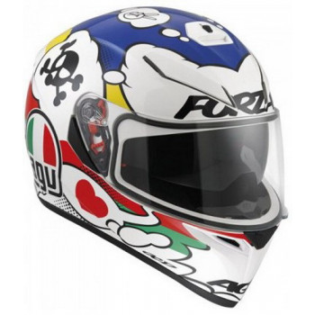 Мотошлем AGV K-3 SV Multi Comic White-Red-Blue L
