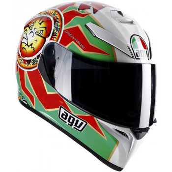 Мотошлем AGV K-3 SV Top Imola Red-White-Green M/S