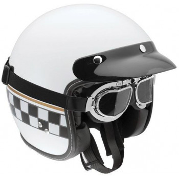 Мотошлем AGV RP60 Cafe Racer White XS