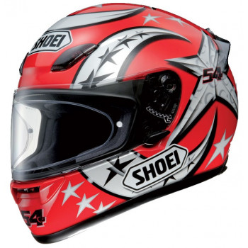 Мотошлем Shoei XR-1000 Kenan TC-1 Red-Grey 2XL