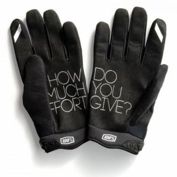 фото 2 Мотоперчатки Мотоперчатки 100% Brisker Cold Weather Black M