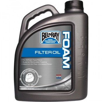 Mасло для пропитки воздушного фильтра Bel-Ray Foam Filter Oil (4L)