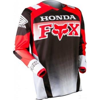 фото 2 Кроссовая одежда Мотоджерси Fox 180 Honda Red M
