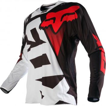 фото 1 Кроссовая одежда Мотоджерси Fox 360 Shiv Black-White XL