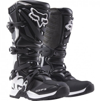 Мотоботы детские Fox Comp 5 Youth Boys MX Boot Black 4