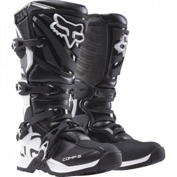 Мотоботы детские Fox Comp 5 Youth Boys MX Boot Black 4