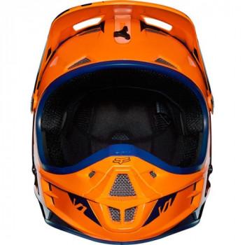 фото 3 Мотошлемы Мотошлем Fox V1 Race ECE Orange-Blue S