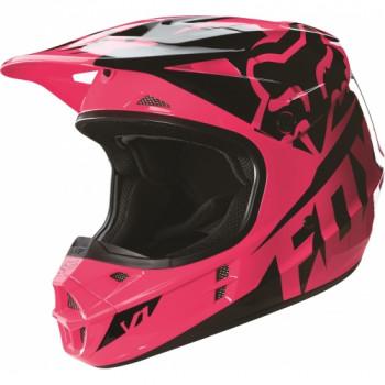 фото 1 Мотошлемы Мотошлем Fox V1 Race ECE Pink XL