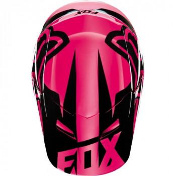 фото 4 Мотошлемы Мотошлем Fox V1 Race ECE Pink XL
