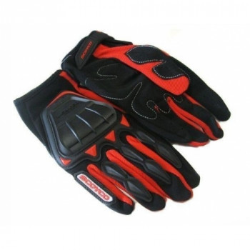 фото 1 Мотоперчатки Мотоперчатки Scoyco MC08 Red XL
