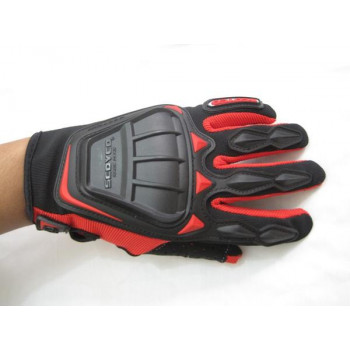 фото 2 Мотоперчатки Мотоперчатки Scoyco MC08 Red XL