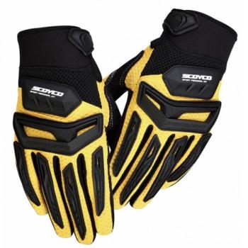 Мотоперчатки Scoyco MX54 Yellow L