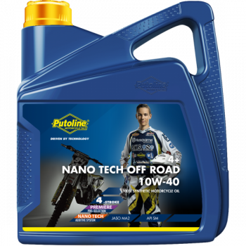 Масло моторное Putoline Oil Off Road Nano Tech 4+ 10W-40 4L