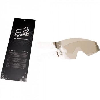 Сменные пленки для мотоочков Fox 14 pack of laminated tear-offs Smoke