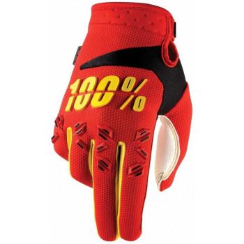 Мотоперчатки детские 100% Airmatic Youth Red L (7)