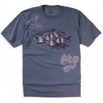 Футболка Fox Counterfeit Heathered s/s Tee Purple L