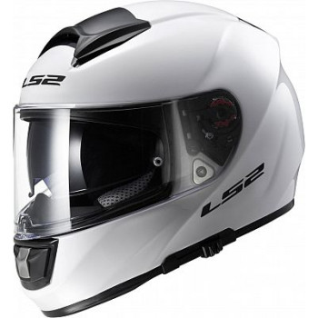 Мотошлем LS2 FF397 Vector F2 With Bluetooth Gloss-White L