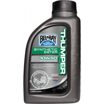 Моторное масло Bel-Ray Works Thumper Racing Synthetic Ester 4T 10W-50 1L