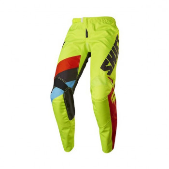 Мотоштаны Shift Youth Whit3 Tarmac Pant Flo Yellow 26 2017