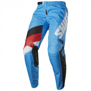 Мотоштаны Shift Youth Whit3 Tarmac Pant Flo Blue 24 2017