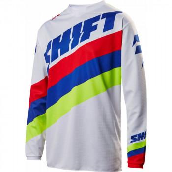 Мотоджерси Shift Whit3 Tarmac Jersey White XL 2017