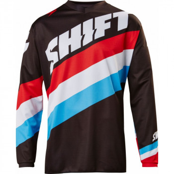 Мотоджерси Shift Whit3 Tarmac Jersey Black 2X 2017
