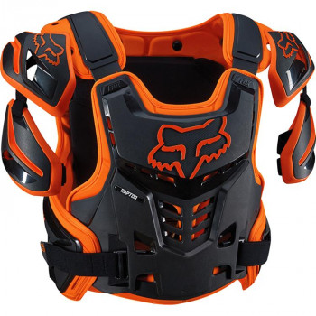 Моточерепаха Fox Raptor Vest Orange L/XL