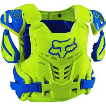 Моточерепаха Fox Raptor Vest Blue-Yellow L/XL