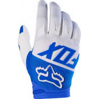 Мотоперчатки Fox Dirtpaw Race Blue-White S (2017)