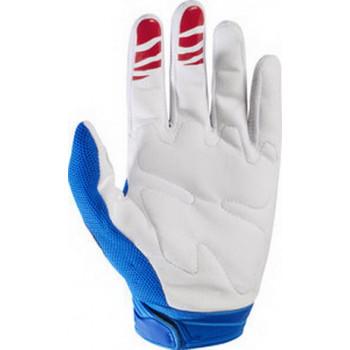 фото 2 Мотоперчатки Мотоперчатки Fox Dirtpaw Race Blue-White S (2017)