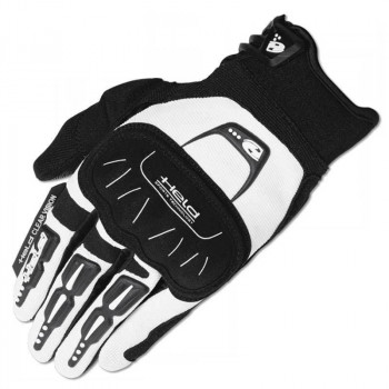 Мотоперчатки Held Backflip White-Black 10