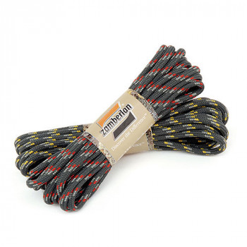 Шнурки Zamberlan Laces Anthracite-Grey-Red 190