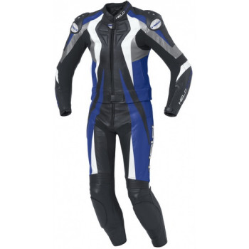 Мотокомбинезон кожаный Held Warrior Black-Blue 54