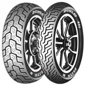 Мотошины Dunlop 491 Elite II RWL 140/90B16 Rear 77H TL