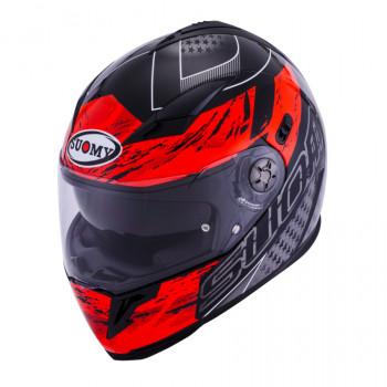 Мотошлем Suomy Halo Drift Red S