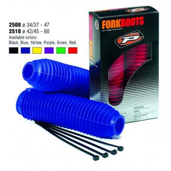 Гофра вилки ProGrip 2510 42/45-60+4 хомута Blue