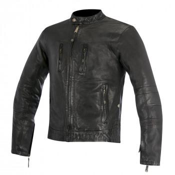 Мотокуртка кожаная Alpinestars Brass Black XL