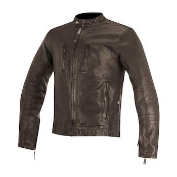 Мотокуртка кожаная Alpinestars Brass Brown XL