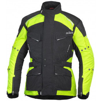 Мотокуртка Buse Open Road Evo Jacket Black-Neon Yellow 52