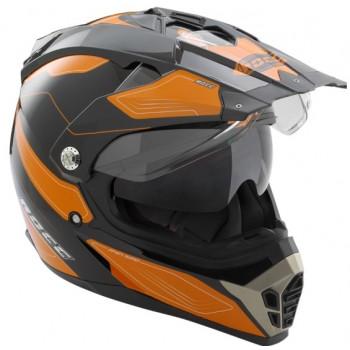 Мотошлем Rocc 771 Black-Orange M