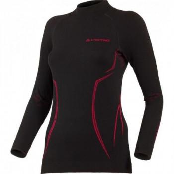 Термофутболка женская Lasting Arida 9045 Black-Pink L/XL