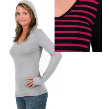 Термофутболка женская Lasting Ela 9490 Black-Pink Lines XS