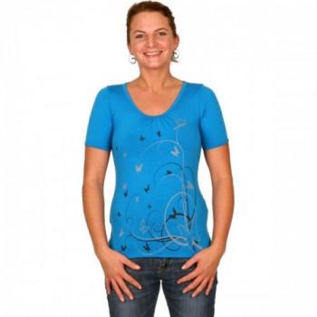 Термофутболка женская Lasting Elis 5151 Blue XS